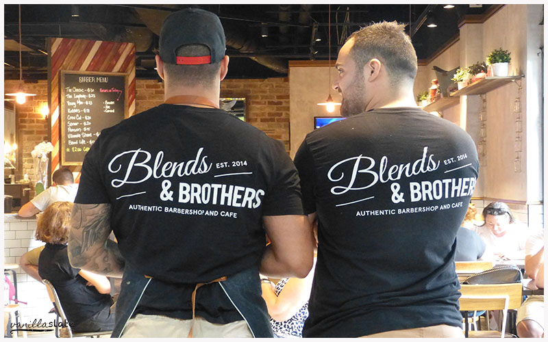 blends and brothers barber shop