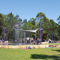 Water play parks in and near the Hills District