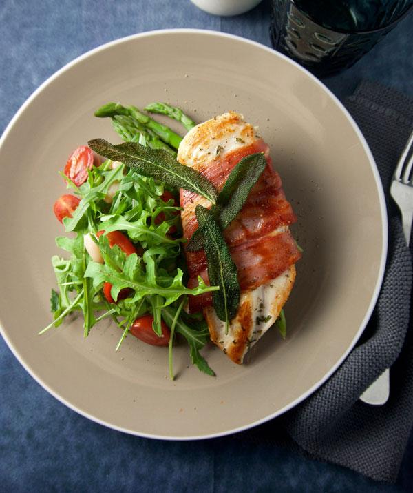 Dinner inspo: chicken saltimbocca with lemon pan sauce - Hills ...