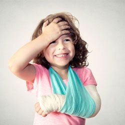 The parents' guide to childhood injuries – scratches, scrapes, sprains & more