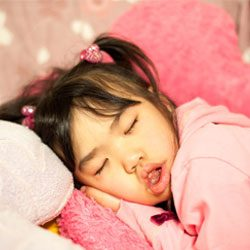 10 things that happen to children when they sleep with their mouth open