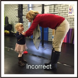 Lifting little people – the right way to do it