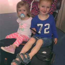 The ups and downs of travelling with kids