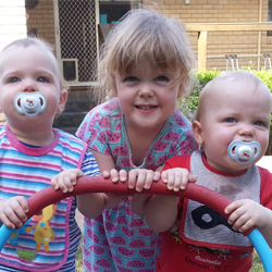 Multiplying the family – one mum's experience with twins and a toddler