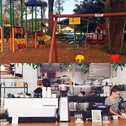 Parks and coffee – a mum's perfect combination