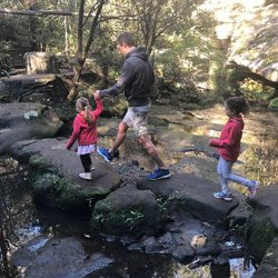 Kid Friendly Bushwalks in the Hills
