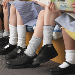 Choosing school shoes for your child