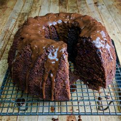 Bake: choc-beet cake with chocolate drizzle