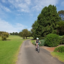 Parks in the Hills with bike and scooter paths