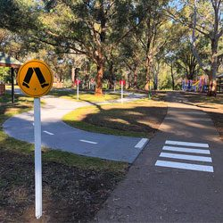 Crestwood Reserve | New Learn to Ride Track | Baulkham Hills
