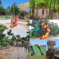 Awesome parks and playgrounds further afield