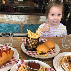 Kids eat free these holidays at The Burrow Cherrybrook!