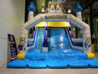 Giant inflatables slide for 3-11 years
