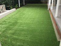 Low maintenance high impact artificial turf
