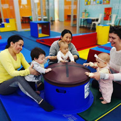 Classes for children aged 6 weeks to 2.5 years