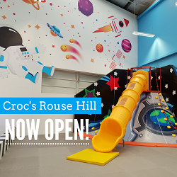 Croc's Playcentre Rouse Hill is here
