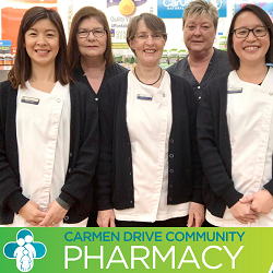Stay safe and healthy with Carmen Drive Community Pharmacy in Carlingford
