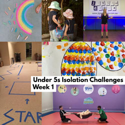 Under 5s Isolation Challenges | 6 April