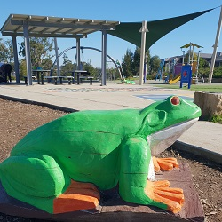 Tree Frog Playground  |  Oxlade Reserve  |  North Kellyville