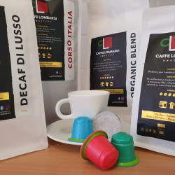 10% off with Caffe Lombardi Roasters