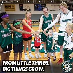 HILLS HORNETS BASKETBALL | FROM LITTLE THINGS BIG THING GROW