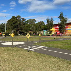 Ryde Park | Learn-to-ride track