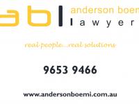 Anderson Boemi Lawyers