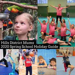 The Hills Sydney: 2020 Spring School Holiday Guide