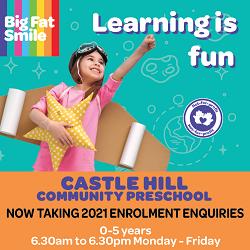 Castle Hill Community Preschool is now taking enrolment enquiries for 2021!