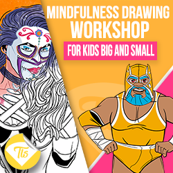 School holidays: Mindfulness Drawing with Jordan Morpeth