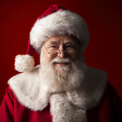 Santa photos at Seven Hills Plaza