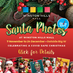 Santa photos at Winston Hills Mall