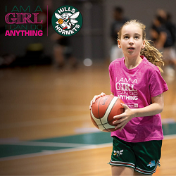Try basketball in a free all-girls training session with Hills Hornets!