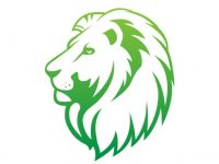 Lion Mowing