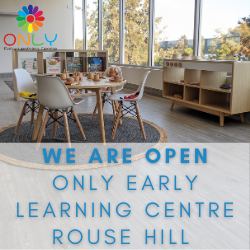 Only ELC now open in Rouse Hill!