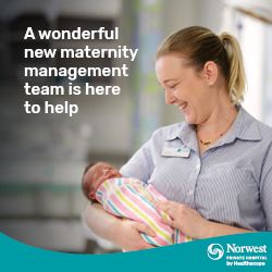 New maternity management team at Norwest Private Hospital