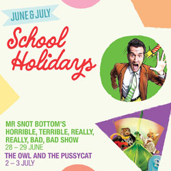 School holiday magic and comedy at Riverside Theatres!